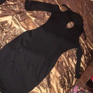 Dresses & Skirts - Cold shoulder little black dress